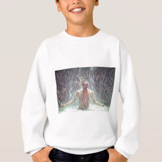 The man under the Waterfall Sweatshirt