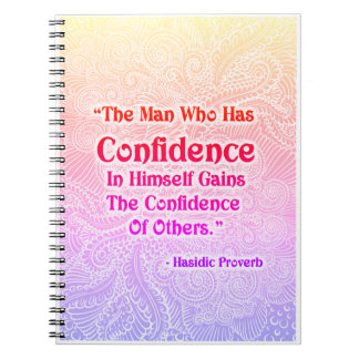 The Man Who Has - Positive Quote´s Notebook