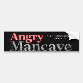 The Mancave Bumper Sticker