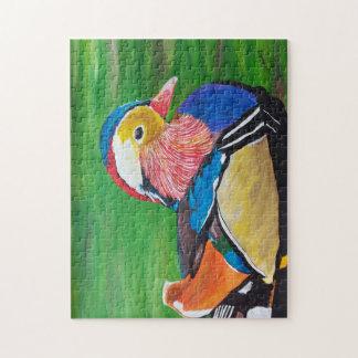 The mandarin duck jigsaw puzzle