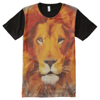 The Mane Event All-Over-Print T-Shirt