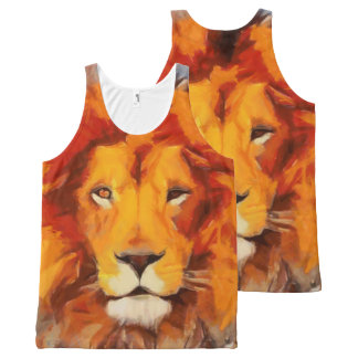 The Mane Event All-Over-Print Tank Top