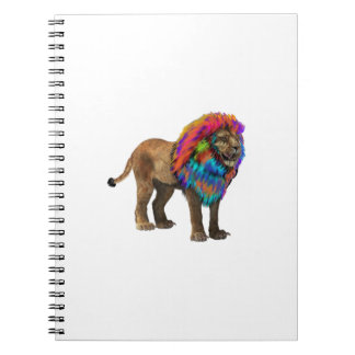 The Mane Event Spiral Notebook