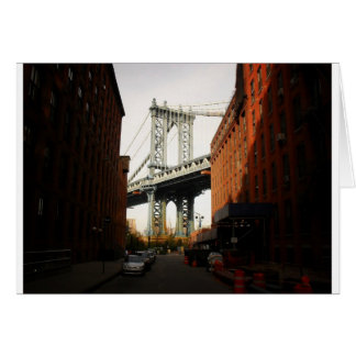 The Manhattan Bridge, A Street View Card