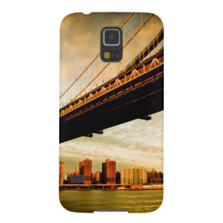The Manhattan bridge view from Brooklyn side (NYC) Galaxy S5 Cover