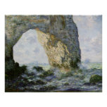 The Manneporte by Claude Monet Print