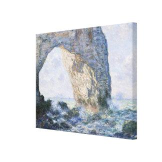 The Manneporte Etretat Canvas Print