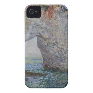 The Manneporte near Étretat - Claude Monet iPhone 4 Case-Mate Case