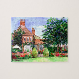 The Manor House, Heslington, York Jigsaw Puzzle