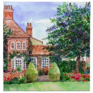 The Manor House, Heslington, York Napkin