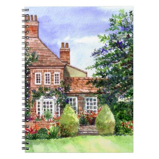 The Manor House, Heslington, York Notebook