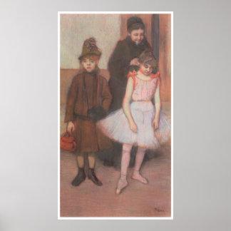 The Mante Family, c. 1884, Edgar Degas Poster