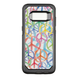 The Many Colors of Peace Signs OtterBox Commuter Samsung Galaxy S8 Case