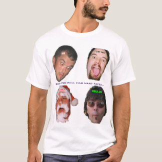 The Many Faces Of Rock II T-Shirt