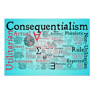 The Map of Consequentialism Poster
