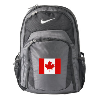 The Maple Leaf flag of Canada Backpack
