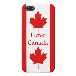 The Maple Leaf flag of Canada Cover For iPhone 5/5S