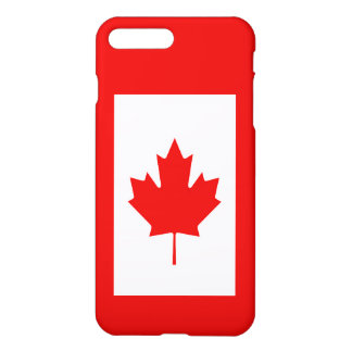 The Maple Leaf flag of Canada iPhone 8 Plus/7 Plus Case