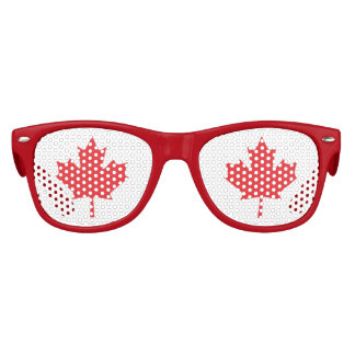 The Maple Leaf, National Symbol of Canada Party Shades