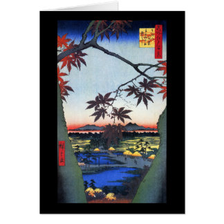 The Maple Trees – Ando Hiroshige Card