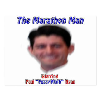 The Marathon Man Postcard
