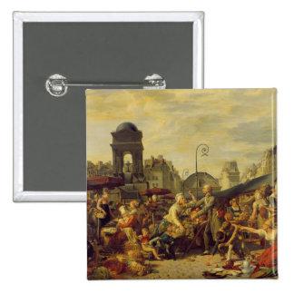 The Marche des Innocents, c.1814 2 Inch Square Button