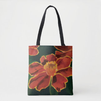 The Marigold Flower Tote. Tote Bag