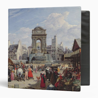 The Market and Fountain of the Innocents Vinyl Binders