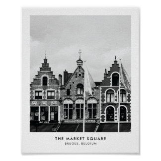 The Market Square, Bruges | Photography print