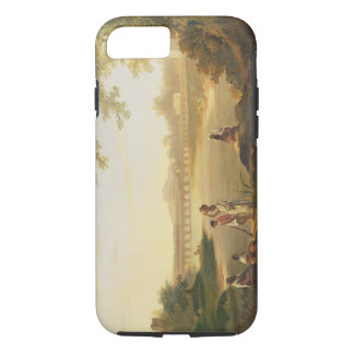 The Marmalong Bridge, with a Sepoy and Natives in iPhone 7 Case
