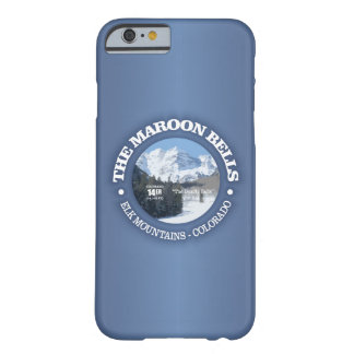 The Maroon Bells Barely There iPhone 6 Case