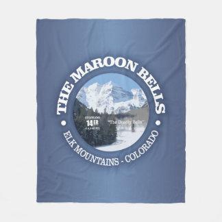 The Maroon Bells Fleece Blanket