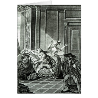 The Marriage of Figaro' Card