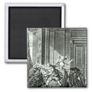 The Marriage of Figaro' Square Magnet