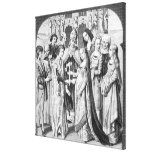 The Marriage of Henry VI and Margaret of Anjou Gallery Wrapped Canvas