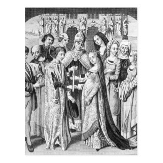 The Marriage of Henry VI and Margaret of Anjou Postcard