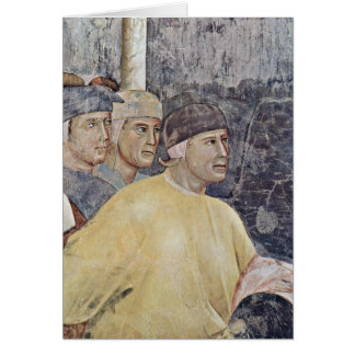 The Marriage Of St. Francis By Giotto Di Bondone Card