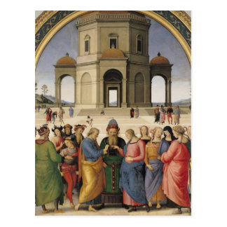 The Marriage of the Virgin, 1500-04 Postcard
