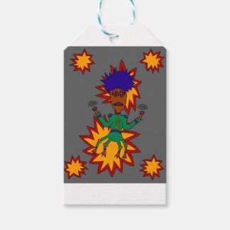 The Martian Jazz Man Gift Tags