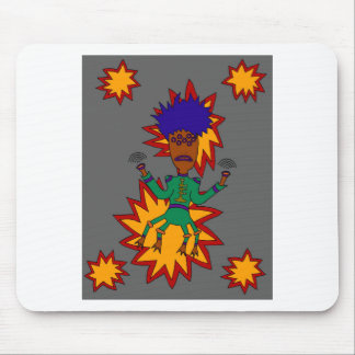 The Martian Jazz Man Mouse Pad