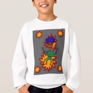 The Martian Jazz Man Sweatshirt