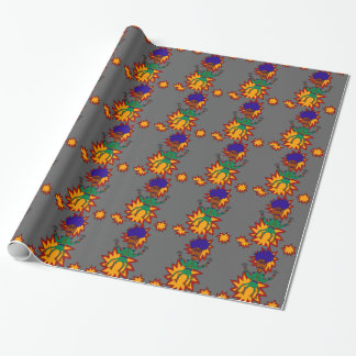 The Martian Jazz Man Wrapping Paper