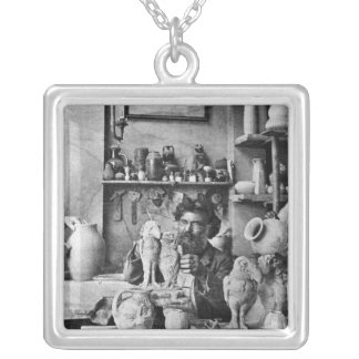 The Martin brothers Silver Plated Necklace