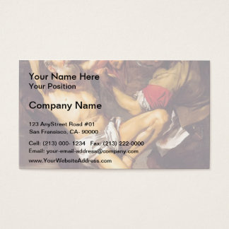 The Martyrdom of St. Bartholomew by Jusepe Ribera Business Card