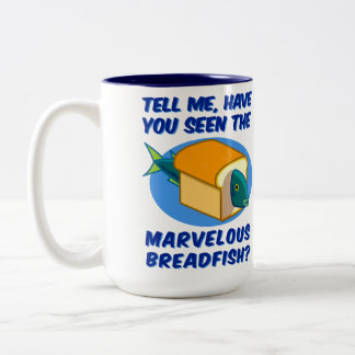 The Marvelous Breadfish Two-Tone Coffee Mug