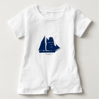 The Mary Celeste 1872 by tony fernandes Baby Romper