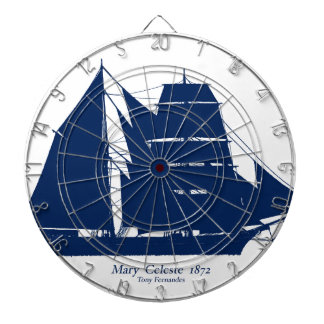 The Mary Celeste 1872 by tony fernandes Dartboards