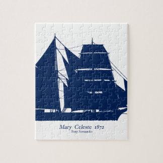 The Mary Celeste 1872 by tony fernandes Jigsaw Puzzle