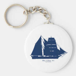 The Mary Celeste 1872 by tony fernandes Keychain