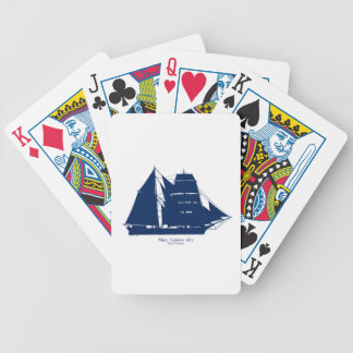 The Mary Celeste 1872 by tony fernandes Poker Deck